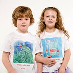 Personalised artwork T-shirts