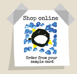 Shop online - order from your sample card