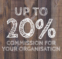 Up to 20% commission